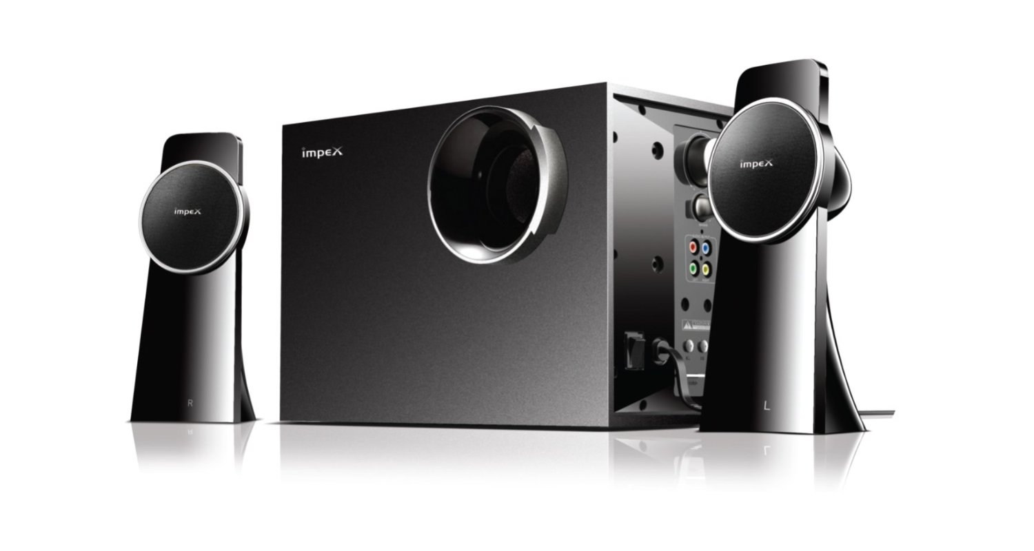 Impex Spinto 2.1 Multimedia Speaker System