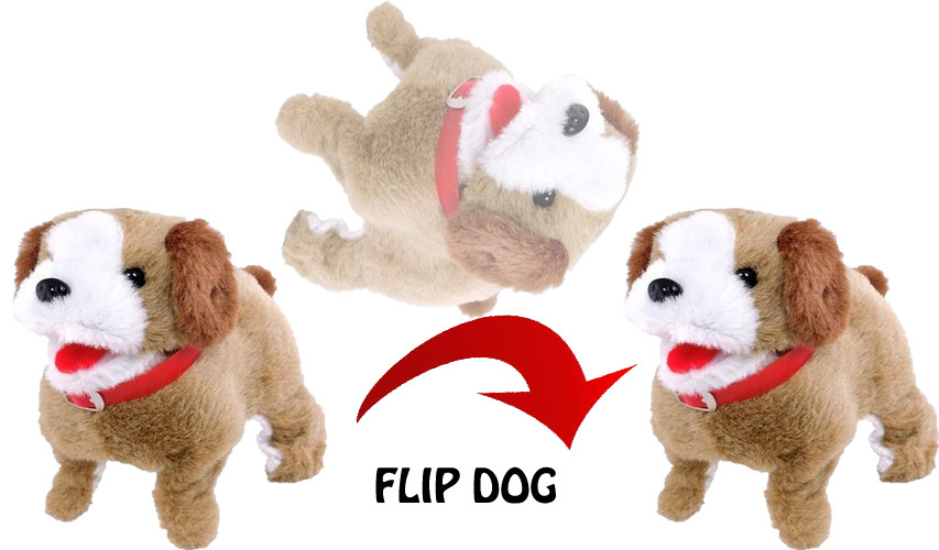 Battery Operated Jumping Dog Toy