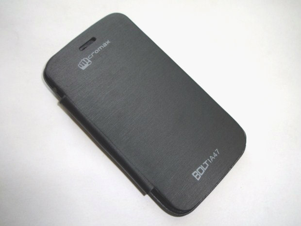 Micromax Bolt A47 Flip Cover available at ShopClues for Rs.130