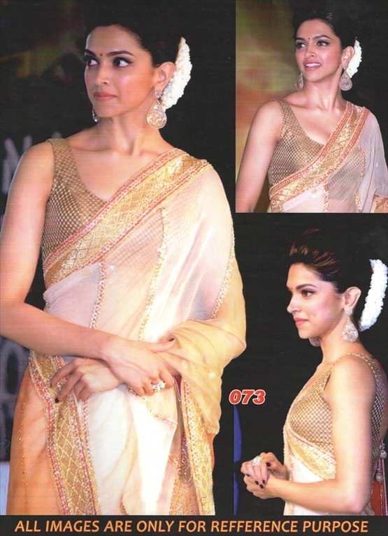 Shop Deepika Padukone Chennai Express Replica Saree (73 ...