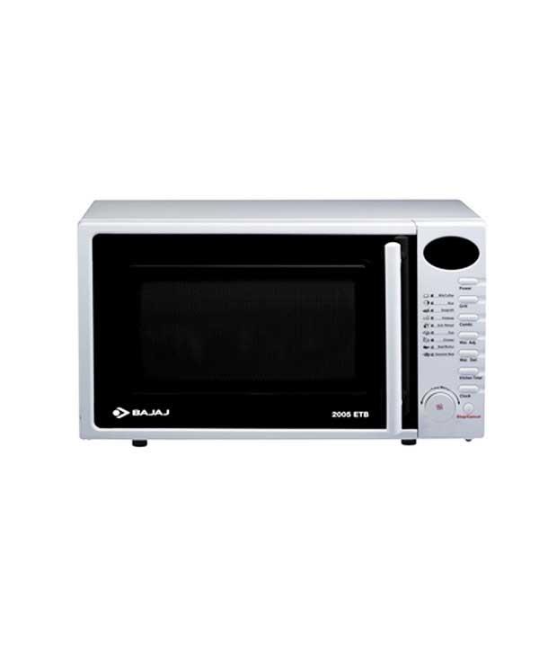 bajaj 20 litre 20ltr 2005etb microwave oven grill. Black Bedroom Furniture Sets. Home Design Ideas
