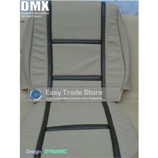 Duster - DMX Dynamic - Branded  Art Leather Car Seat Covers