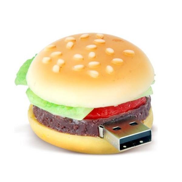 Microware-8GB-Burger-Shape-Designer-Pen-Drive