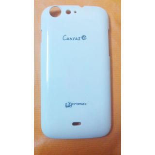 Micromax Canvas 4/A210 Back Cover - White