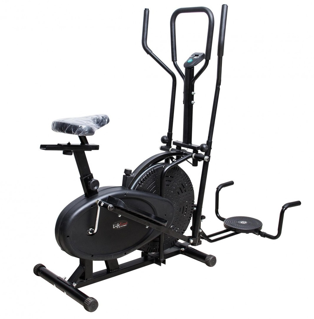 Imported orbitrack bike exercise cycle dual handles hand