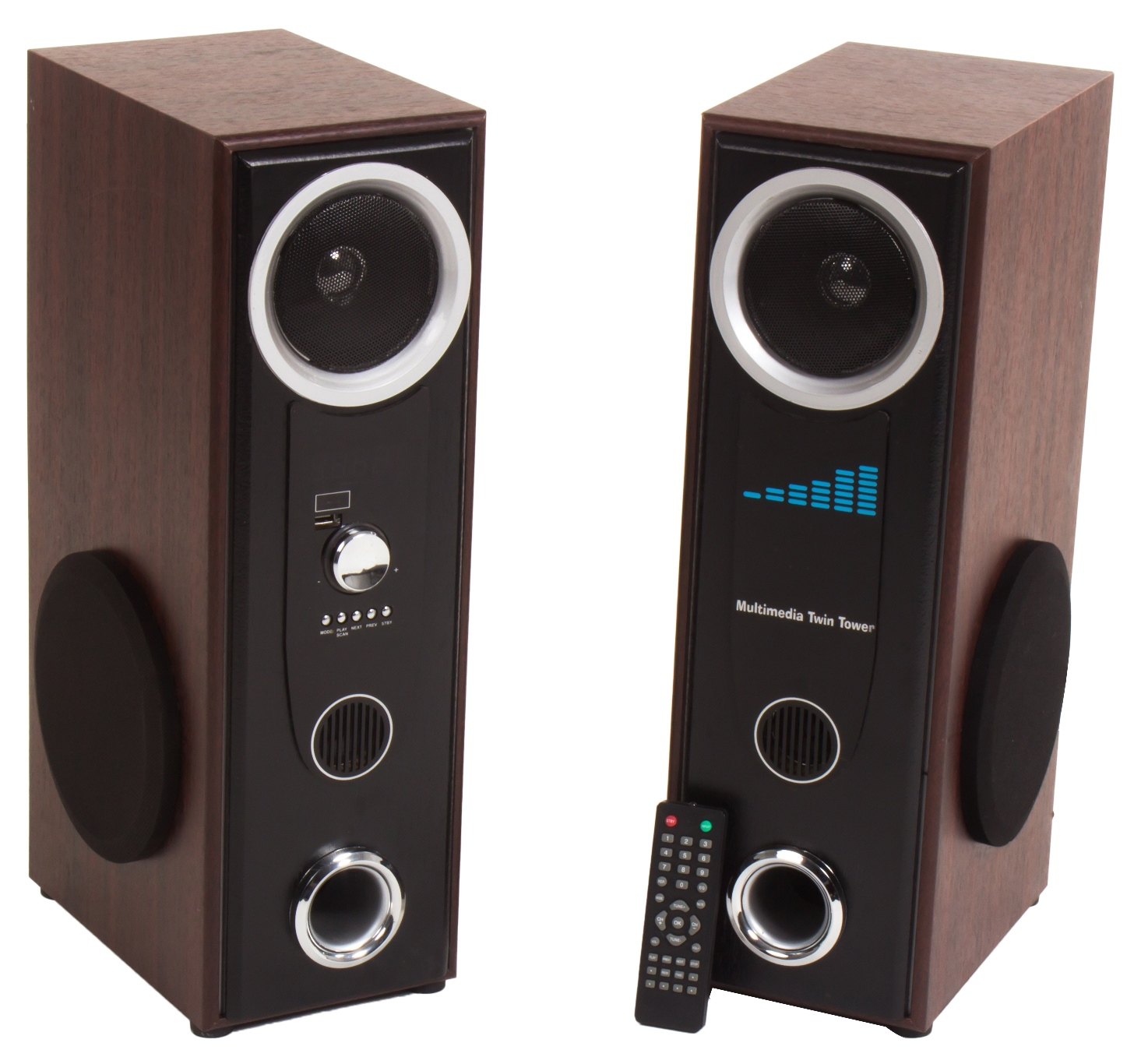 Envent Bluetooth Mini Tower RockU With 120W RMS Wired Home Audio Speaker: Buy Online From