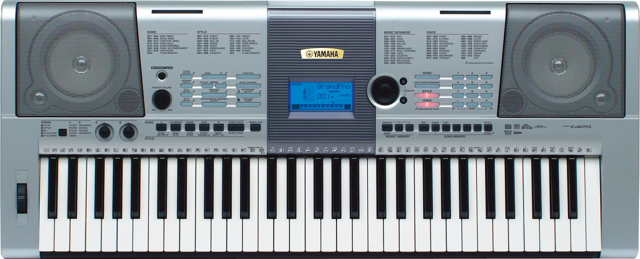yamaha digital keyboard psr i425 available at shopclues. Black Bedroom Furniture Sets. Home Design Ideas