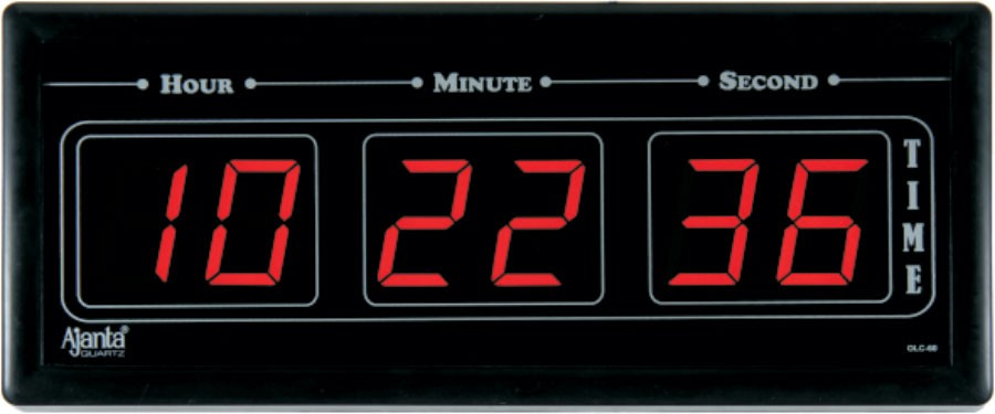 Ajanta Led Digital Wall Clock Olc 60 Available At