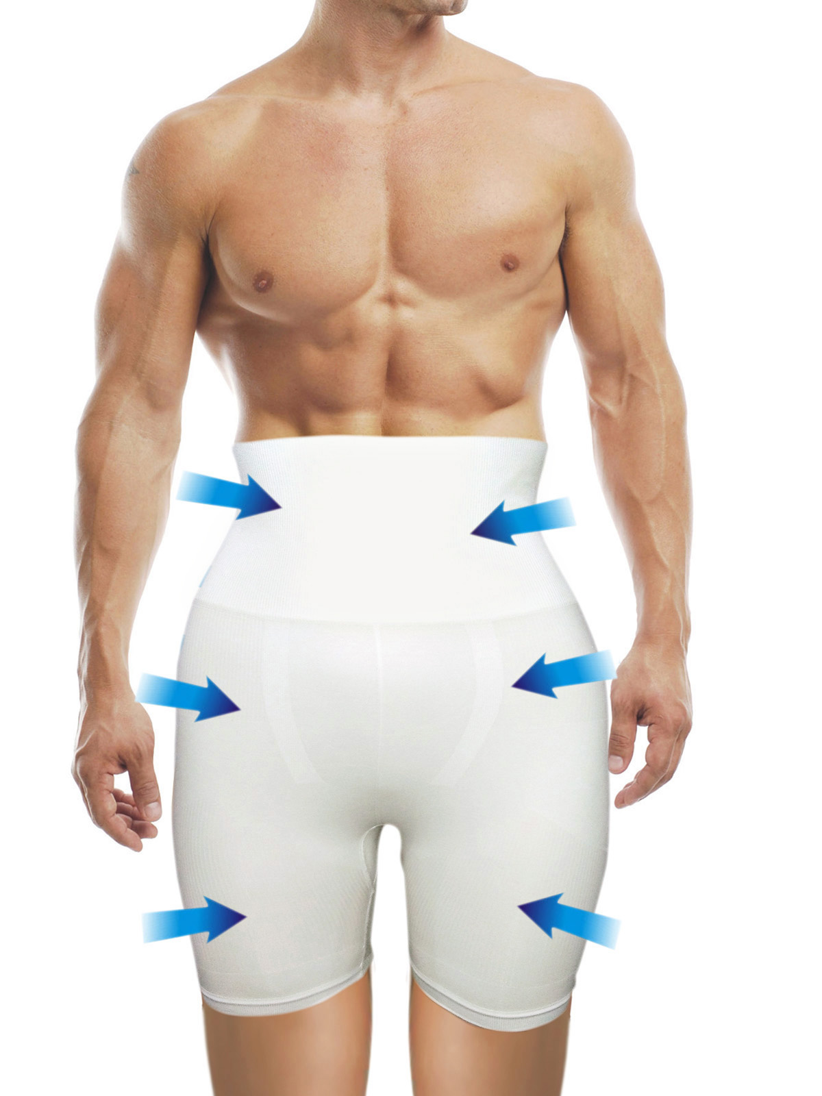 Buy Aarps Seamless Slimming Tummy Thigh Control Mens