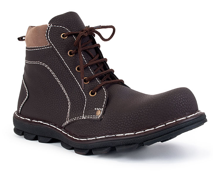 Adam Step High Anckle Brown Boot