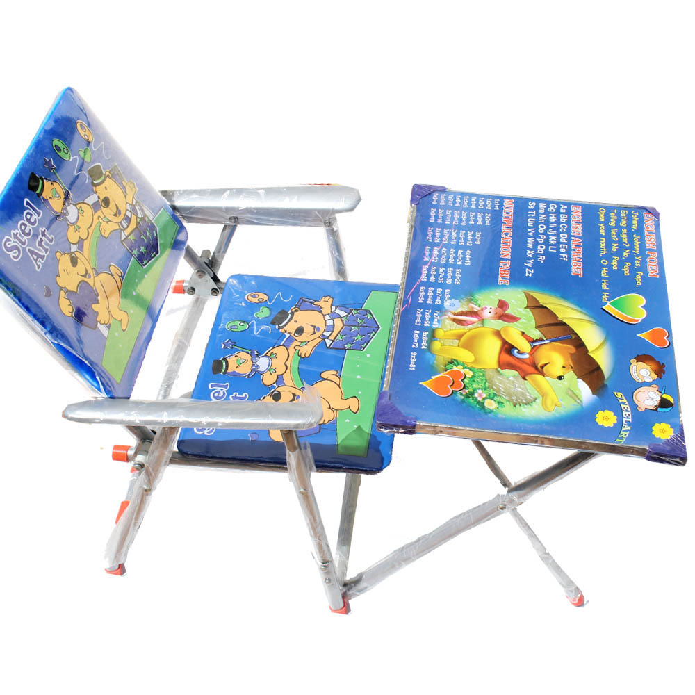 Kids Folding Study table and chair available at ShopClues for Rs.999