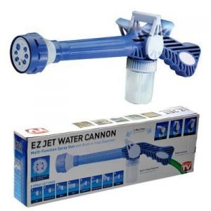 Ez Jet Water Cannon 8 In1 Turbo Water Spray Gun Jet Gun Water Pressure Spray Gun   Blue available at ShopClues for Rs.249