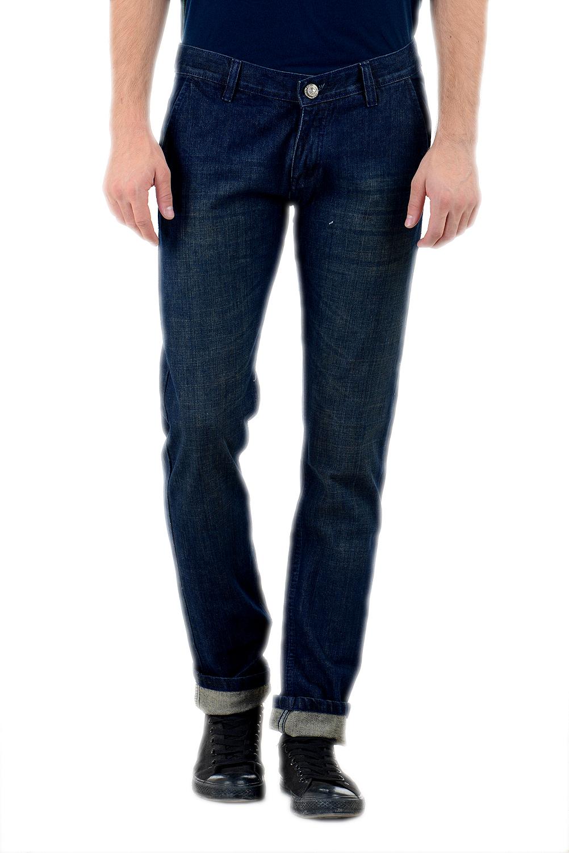 Denim 86 Blue Cotton Slim Fit Mens Jeans