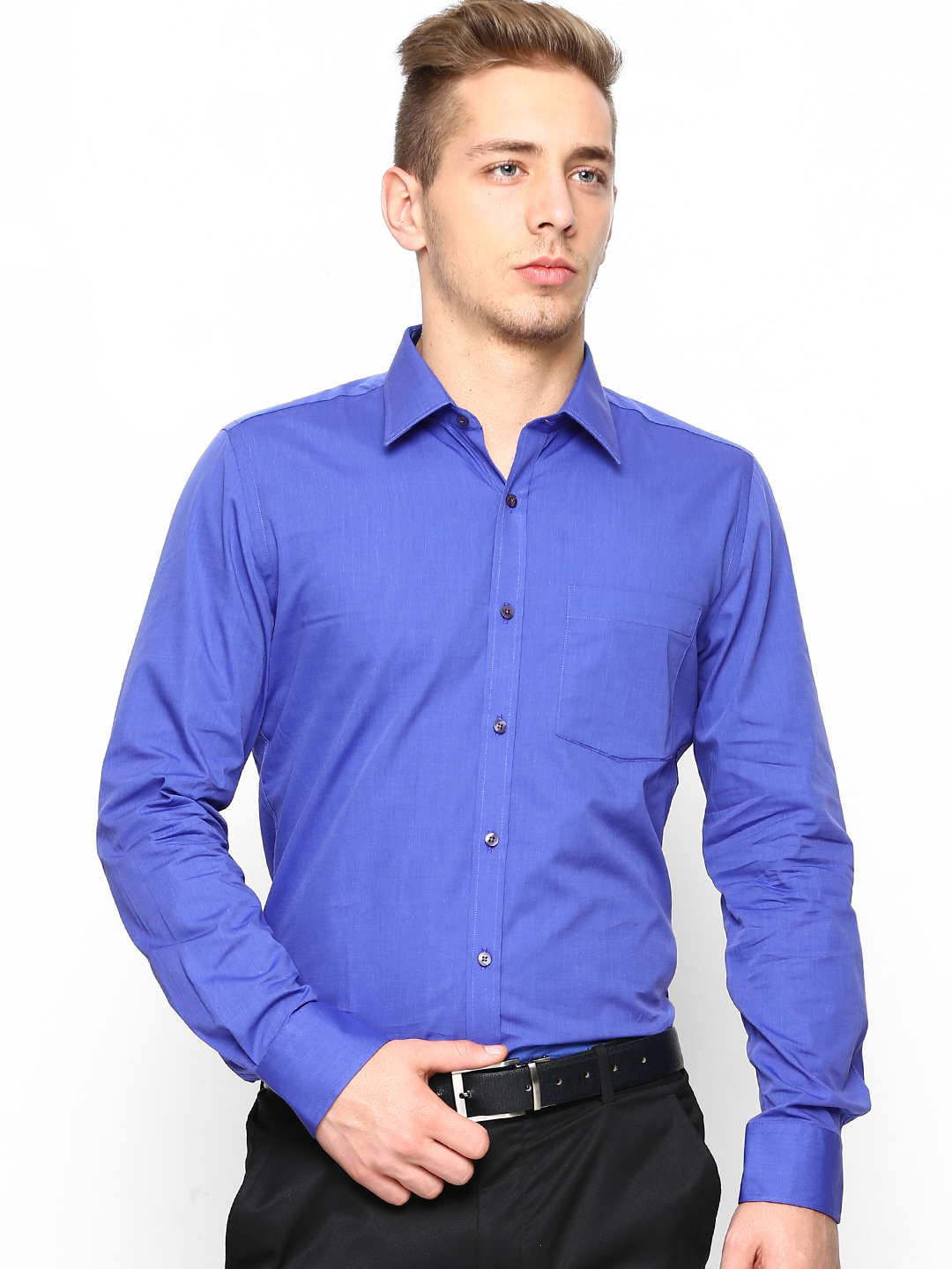 The wide use of formal shirts for men made the fashion designers think over it and hence, today there is a variety of shirt designs available to choose from. With a wide range of colours, fittings, lengths and designs, they have always allowed the men to look professional and intellectual.