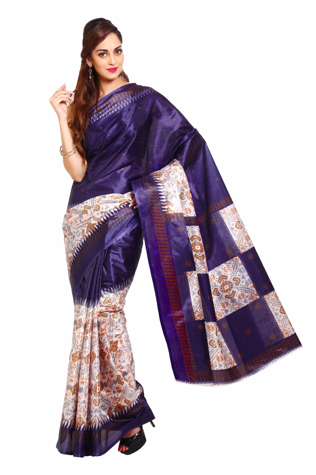 Buy Fashion Founder Designer Bollywood Style Printed Tapeta Saree Online In India 83675802
