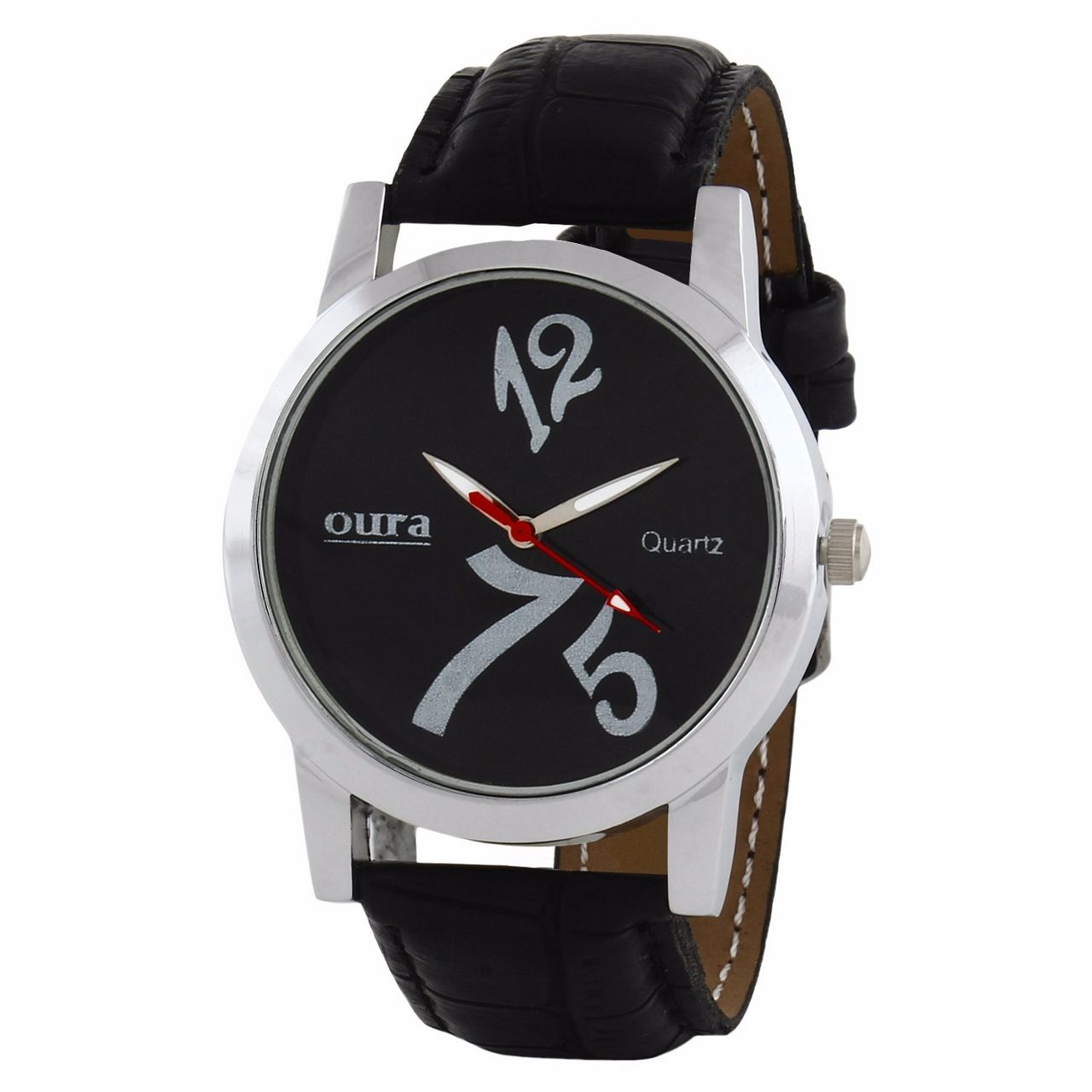 Oura Wb-12 Analog Black Dial Men,S Watch