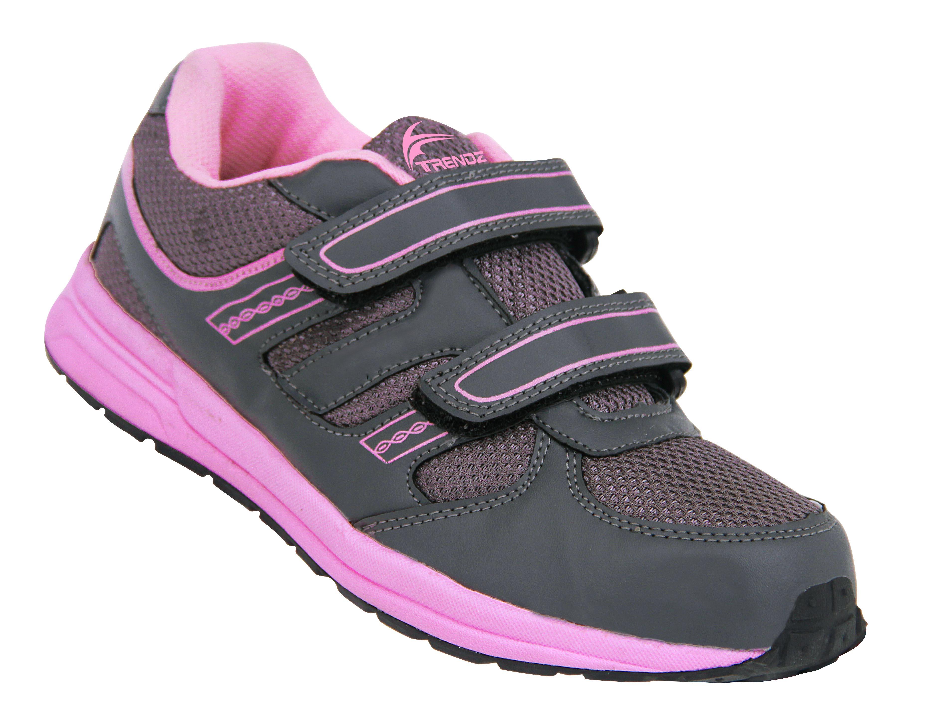 Trendz fashion Sports Running Shoes, MJ-913, Pink/Grey