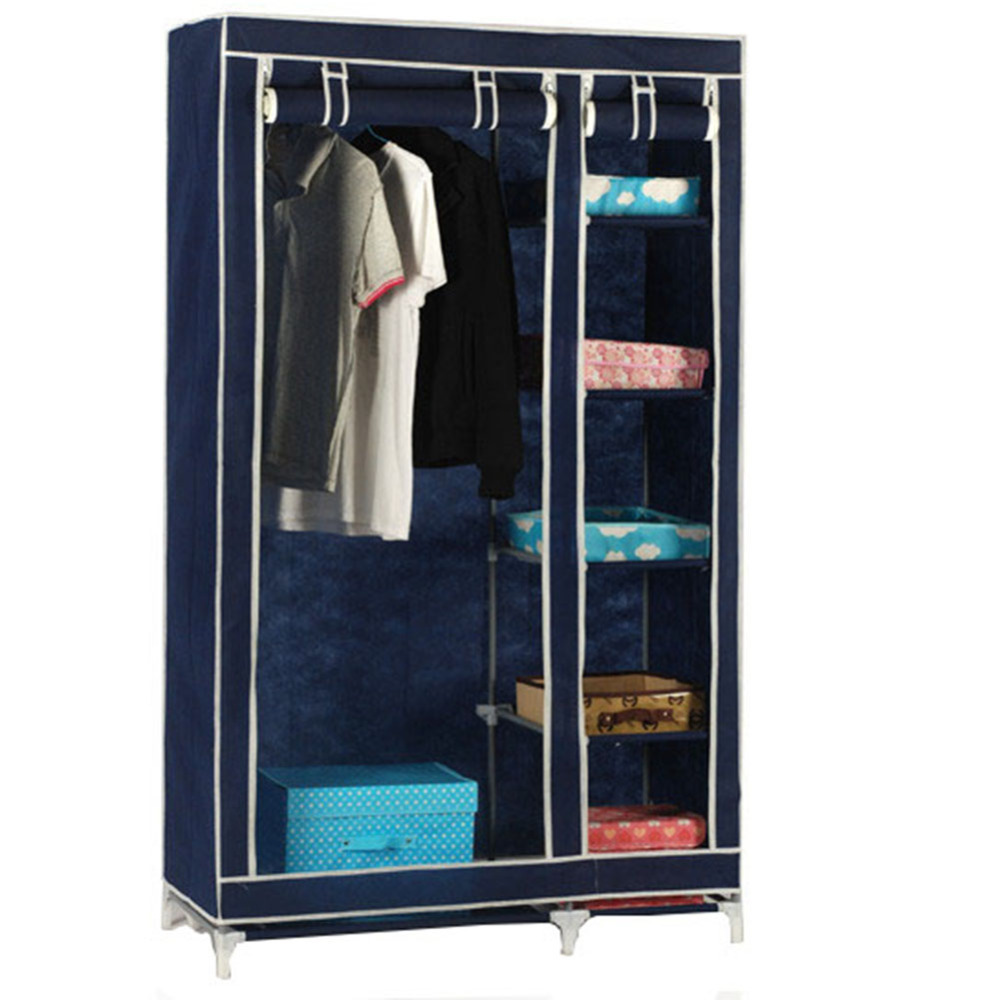 Foldable Wardrobe Almirah Cupboard IV P Available At