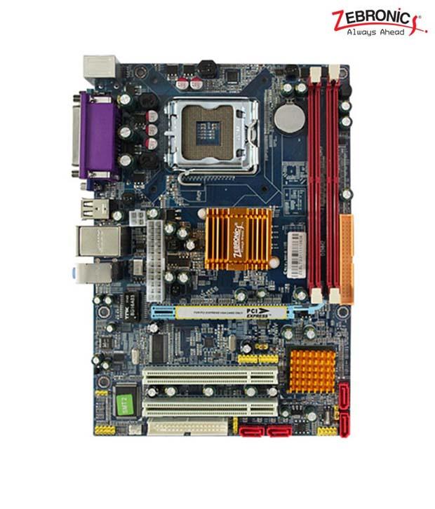 Buy Zebronics Zeb Z31 Socket 775 Mother Board For Desktop