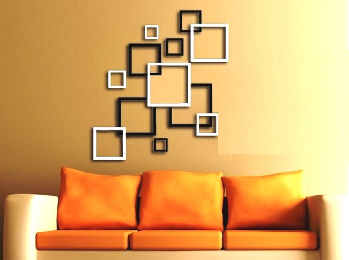 3d wall stickers black and white for wall decor for 3d wall decals