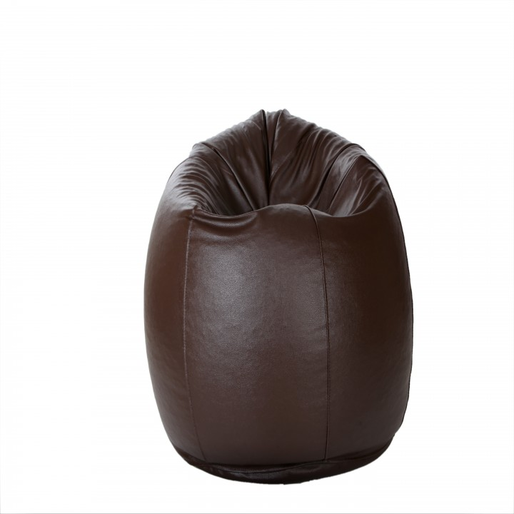 buy comfy bean bag xxl size brown only cover online in india 84625347. Black Bedroom Furniture Sets. Home Design Ideas