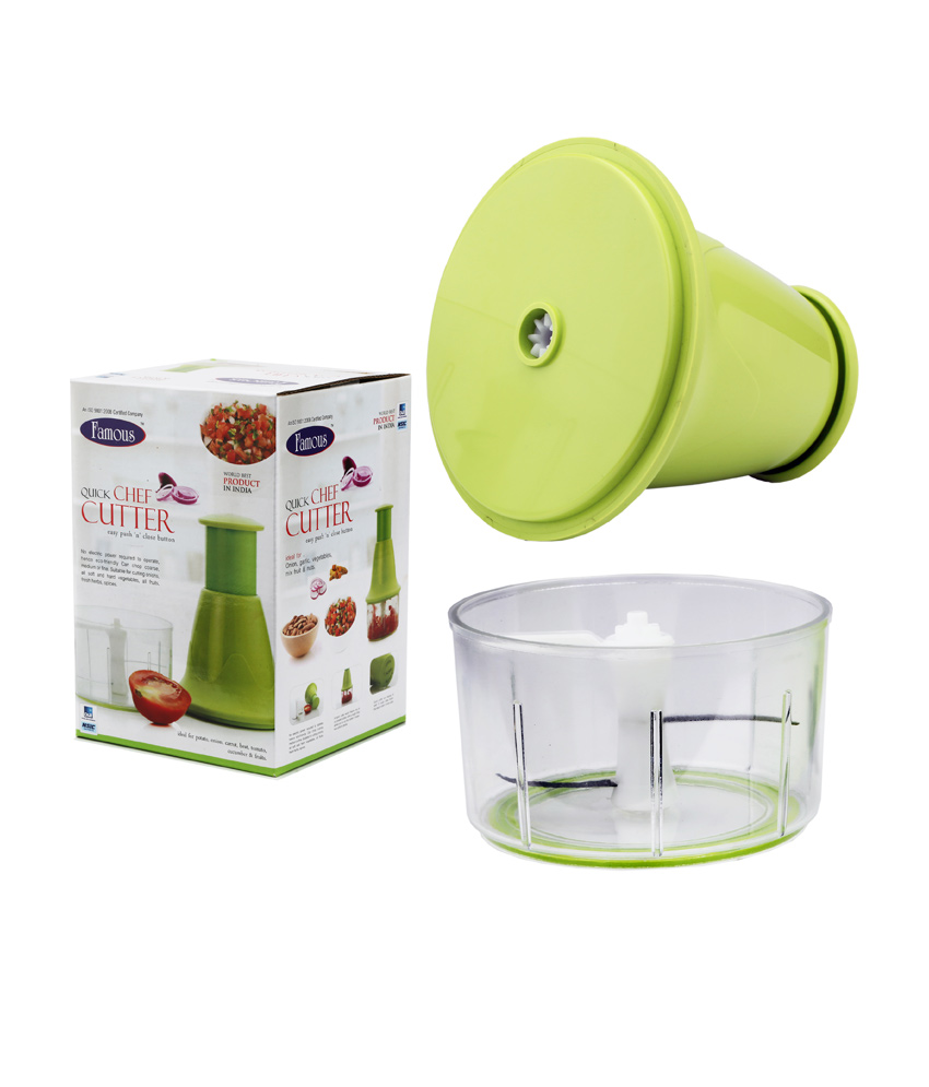 Famous Vegetable Amp Fruit Quick Chef Cutter Chopper With