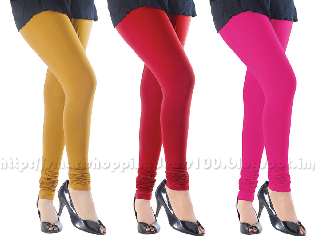 LEGGINGS PACK OF 3 COMBO STRETCHABLE 2 V4RY LOWE5T PRICE