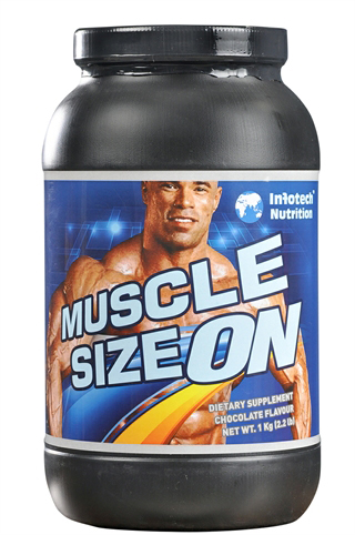 Muscle size on infotech