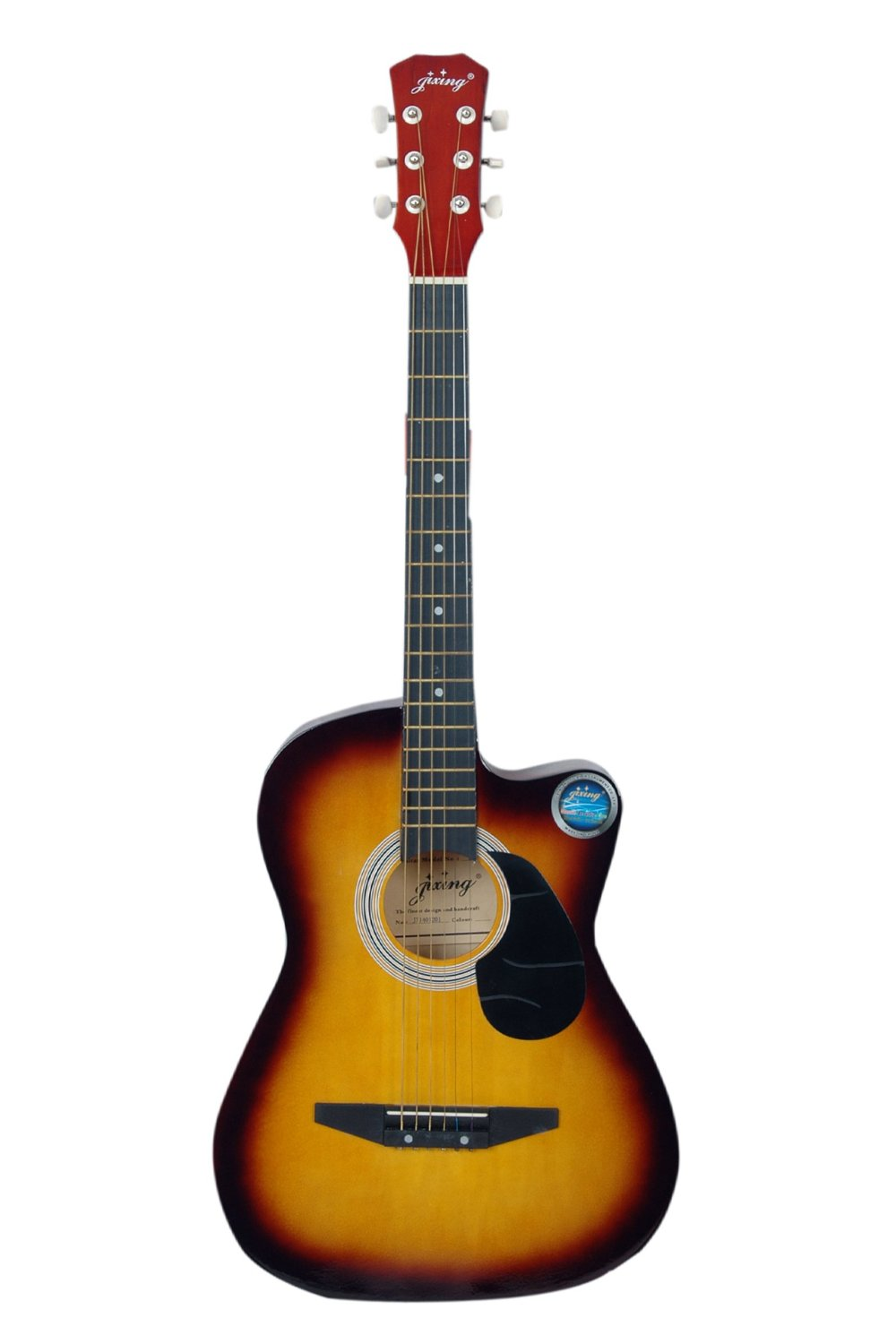 Jixing Acoustic Guitar, Sunburst available at ShopClues for Rs.2700