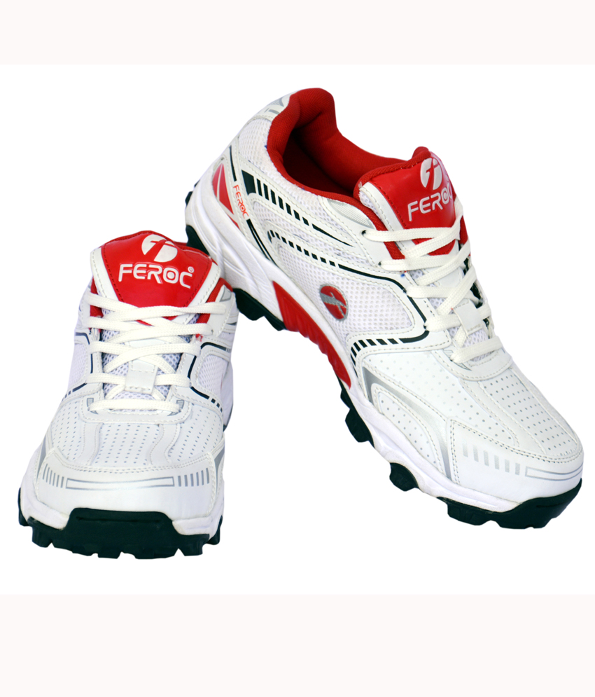 feroc white and cricket sports shoe buy from