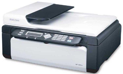 Ricoh B And W Multifunction - Aficio SP 100SF Multifunction Laser Printer