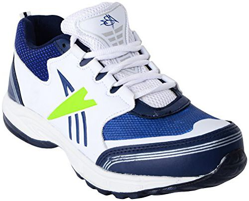 ABZ Men's White and Blue Sport Shoes