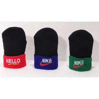 No Brand Boys  Girls Teenagers Winter Wear Designer Woollen Caps - A pack of 3 Caps.