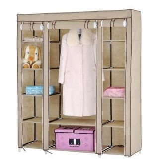 FOLDING WARDROBE CUPBOARD ALMIRAH XII  DOUBLE BEST QUALITY available at ShopClues for Rs.2999