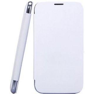 Micromax Canvas Fun A76 Flip Cover White