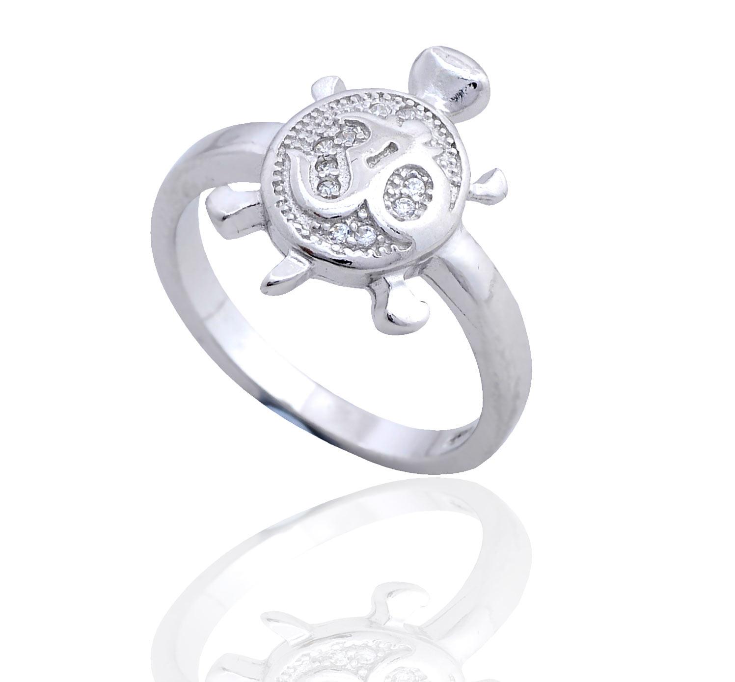 dreamship lovely silver multi tortoise ring
