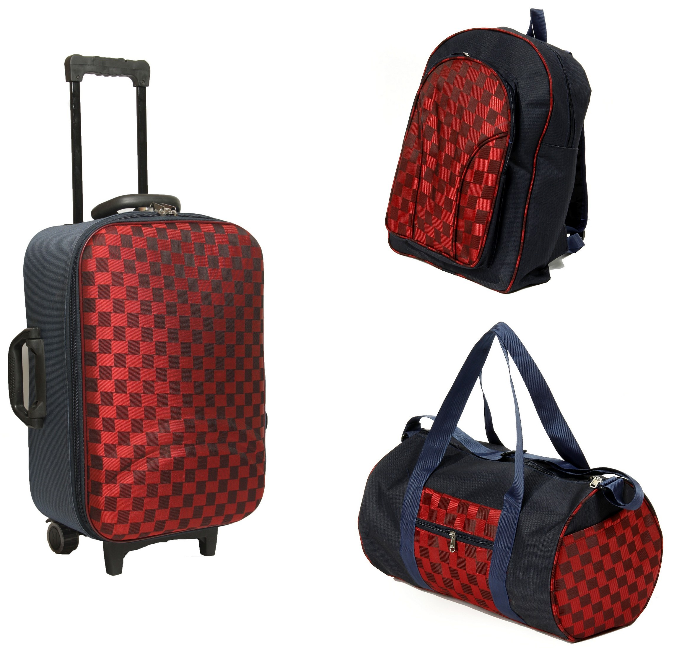 Gym Bag Flipkart: Fidato Suitcase Trolley, Backpack And Gym Bag Combo