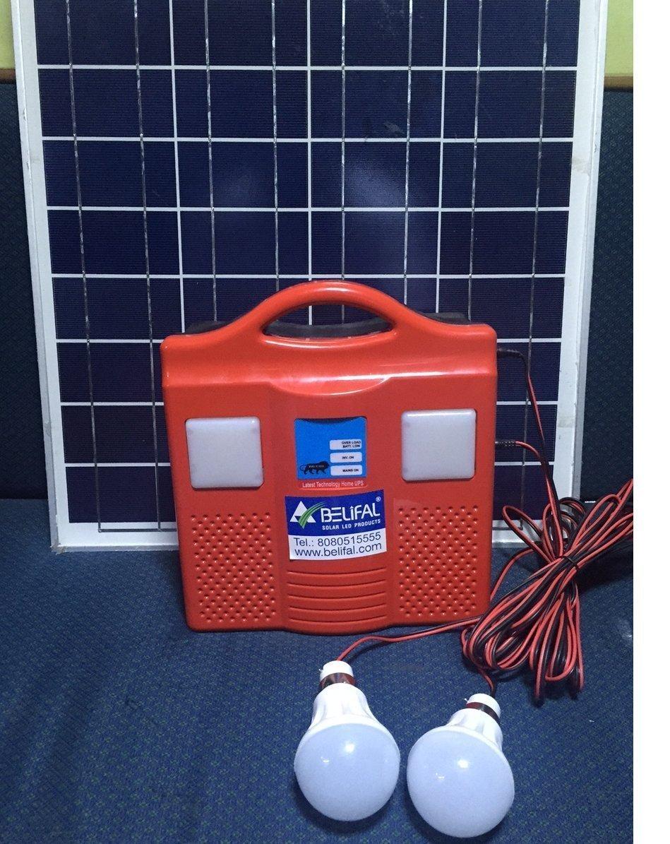 Buy solar home lighting system dc 12v 4 led bulbs table for 12v dc table fan price
