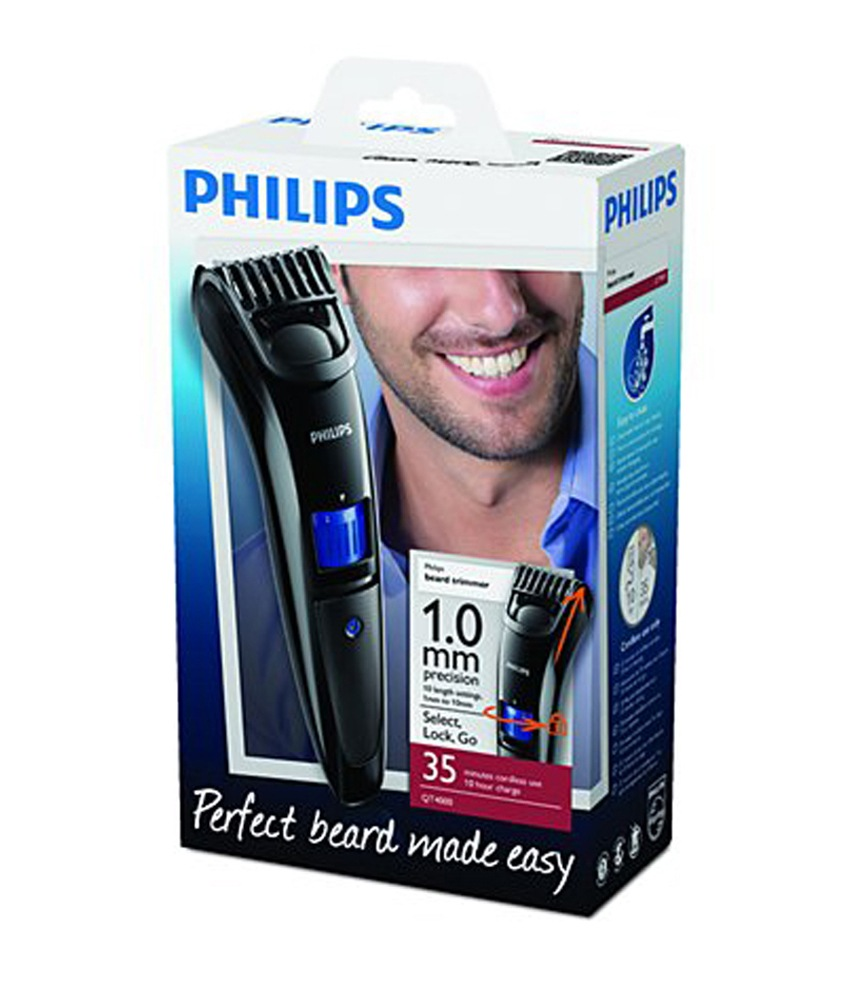philips beard trimmer qt4000 at best prices shopclues online shopping store. Black Bedroom Furniture Sets. Home Design Ideas