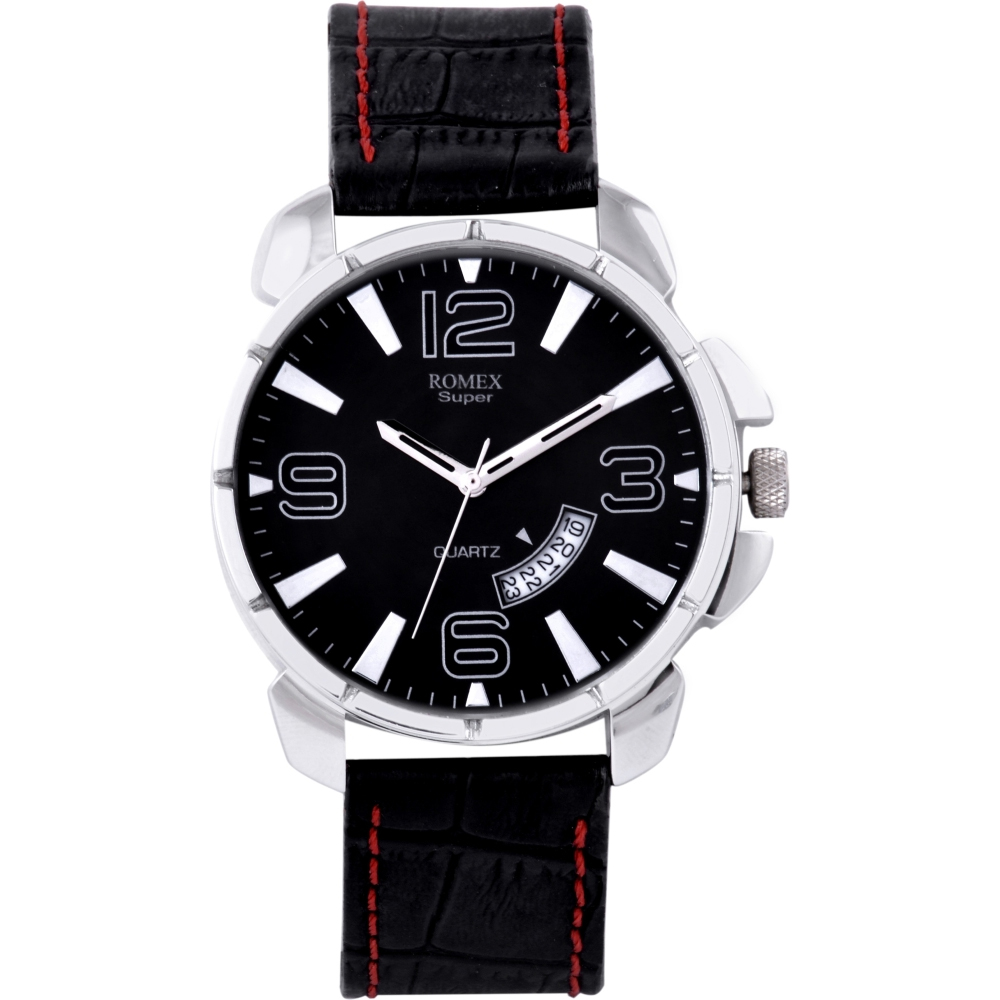 Romex Broad Date Analog Watch - For Boys, Men