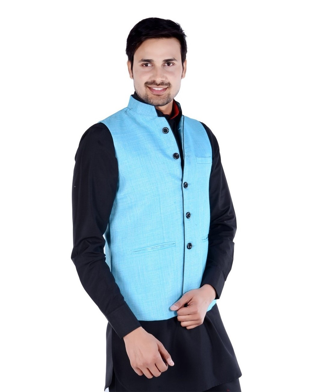Self Textured waist coat from Forge