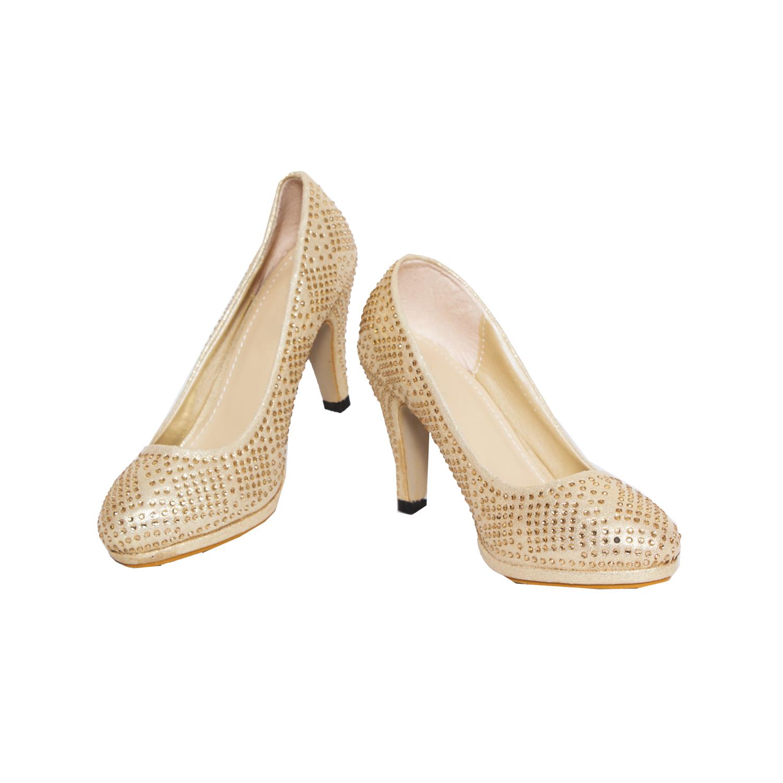 Rialto Gold Heel Sandal for women