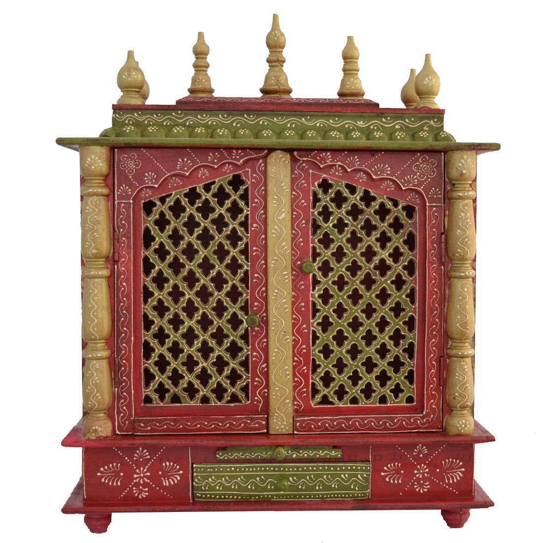 Home Temple Wooden Temple Pooja Mandir Mandap Temple For Home Available At Shopclues For