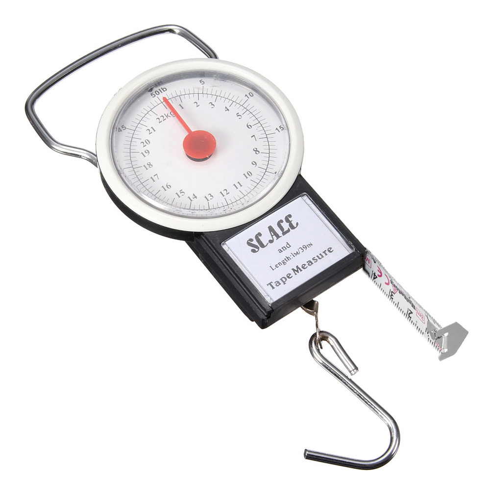Buy 22kg portable fish hook hanging spring weight weighing for Fish weight scale