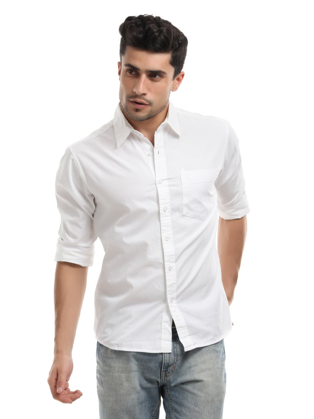 aom cotton shirt for in india shopclues
