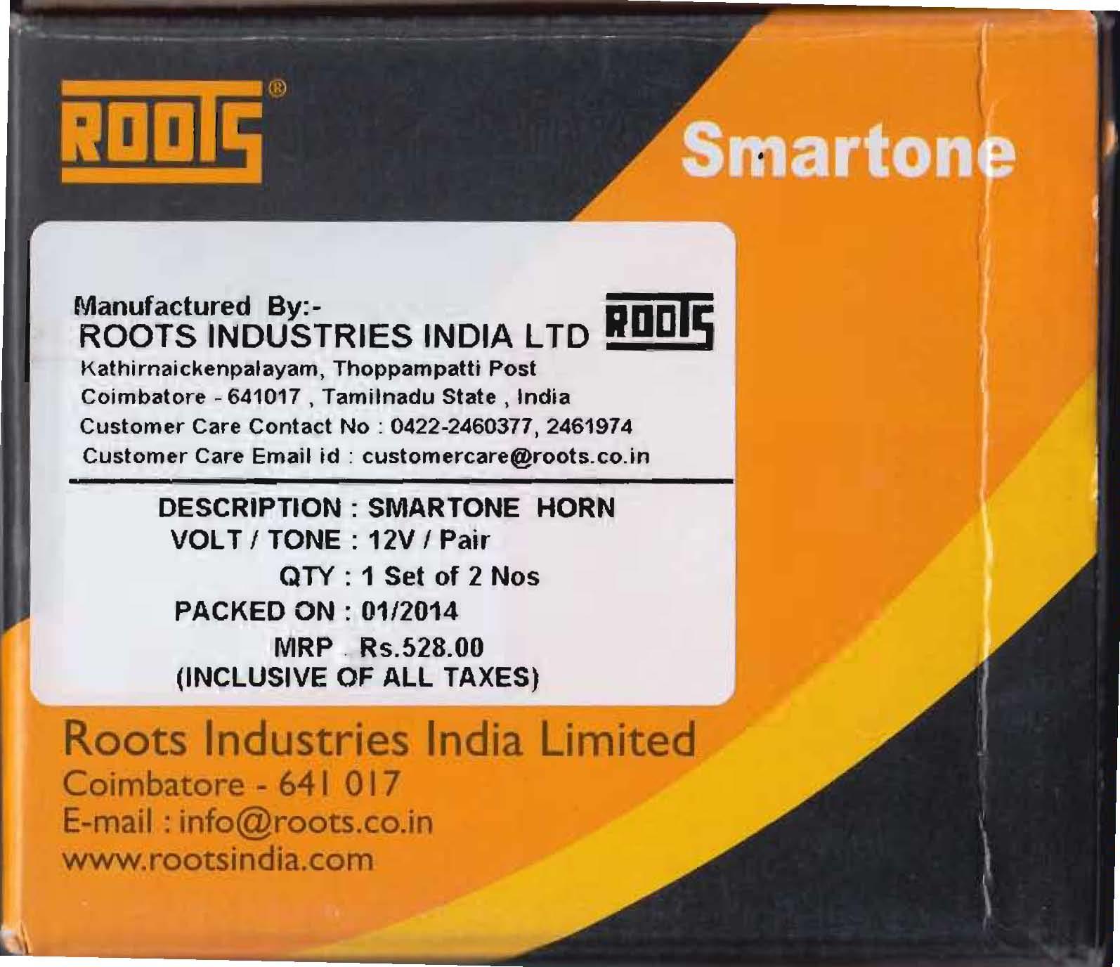 roots industries ltd india