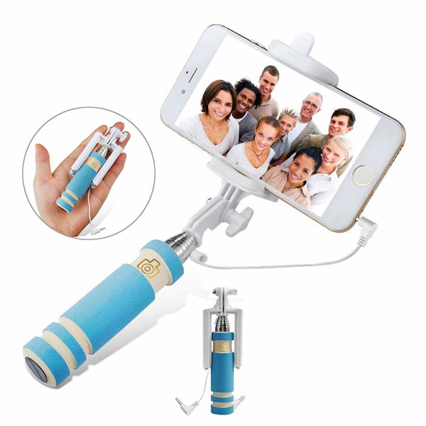 buy mini selfie stick drive by wire for ios androiod monopod for smart. Black Bedroom Furniture Sets. Home Design Ideas