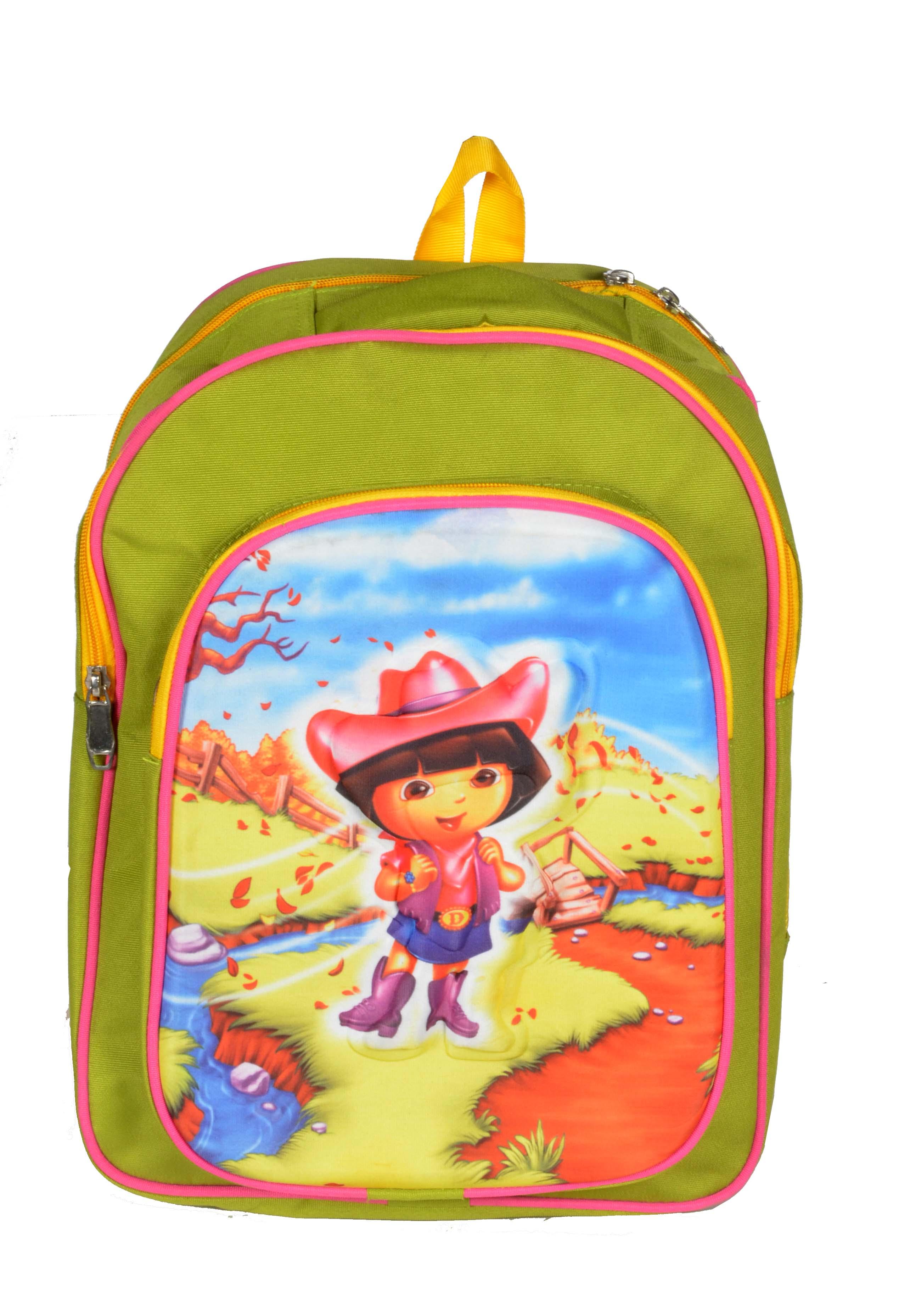 Destiny 3 D Action Boy Yellow School Bag for Kids CEAD1937