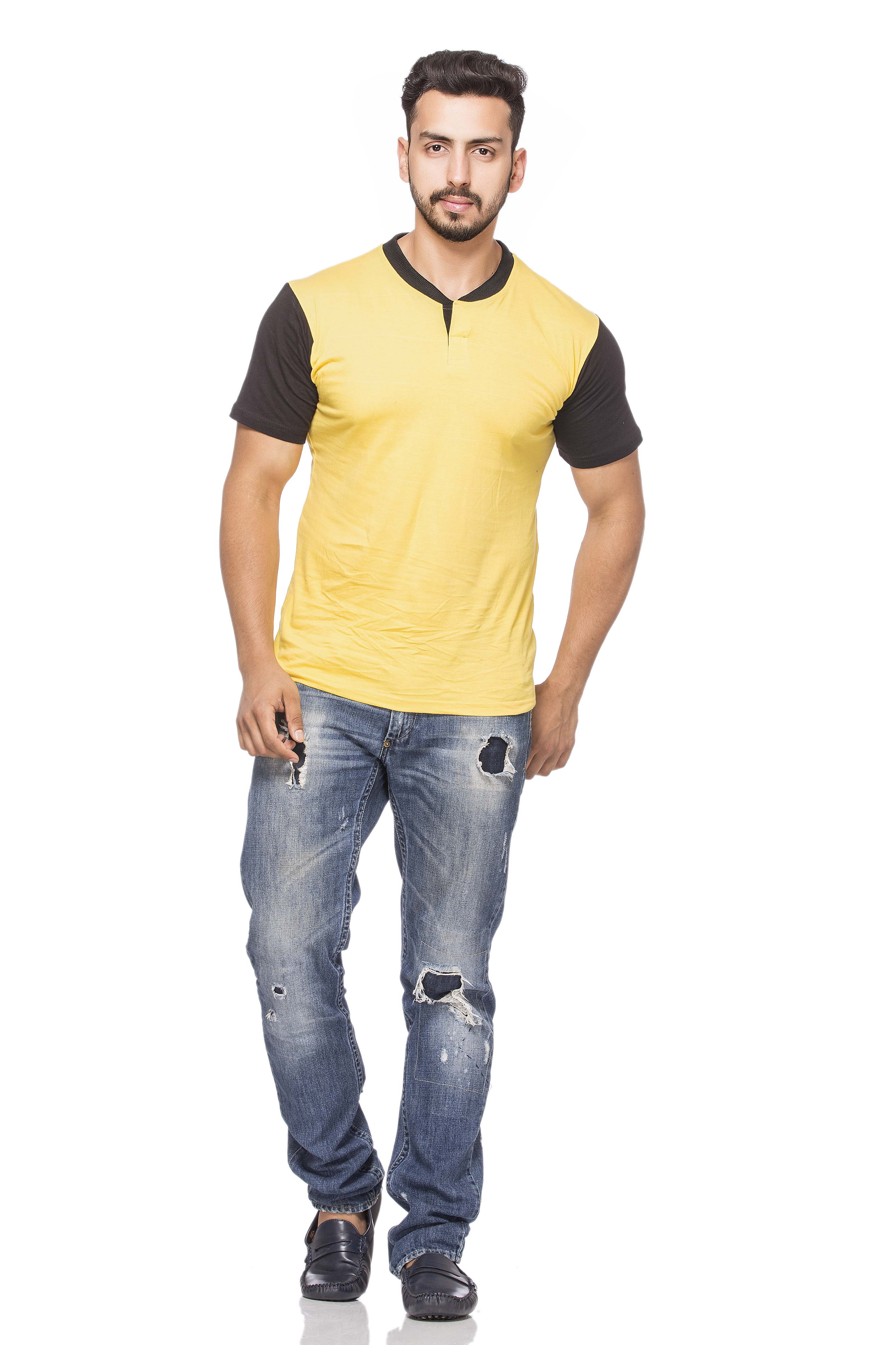 Buy demokrazy half sleeve t shirt for men 7498565 online for Half sleeve t shirts for men