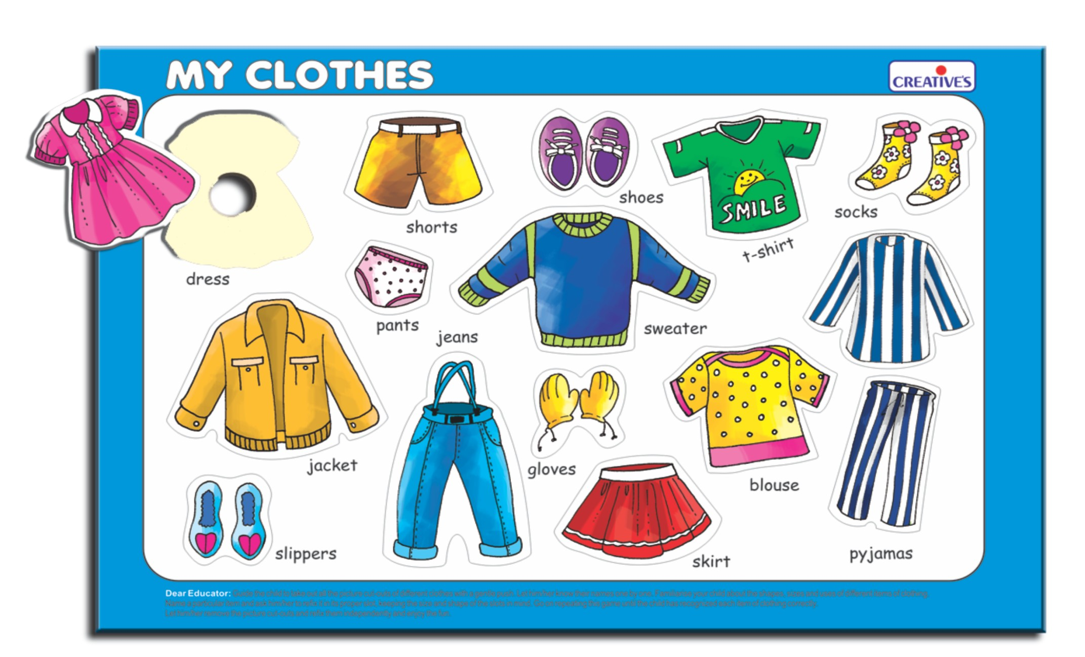 Play and Learn- My Clothes at Best Prices - Shopclues ...